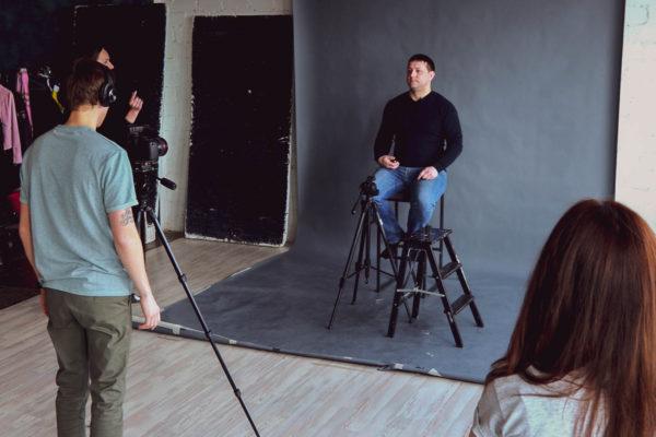 Видеосъемка социального ролика pro bono - Антон Панков